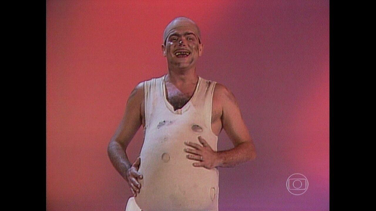 Fernando Vanucci interpretou seu Boneco em especial da Globo