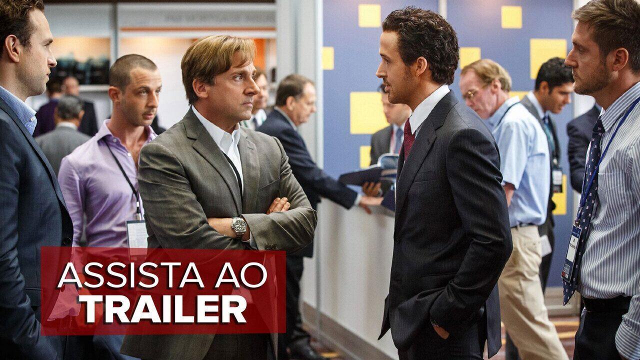 Assista ao trailer de 'A grande aposta'