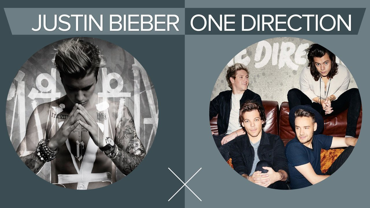 One Direction x Justin Bieber: G1 compara discos de 2015  faixa a faixa