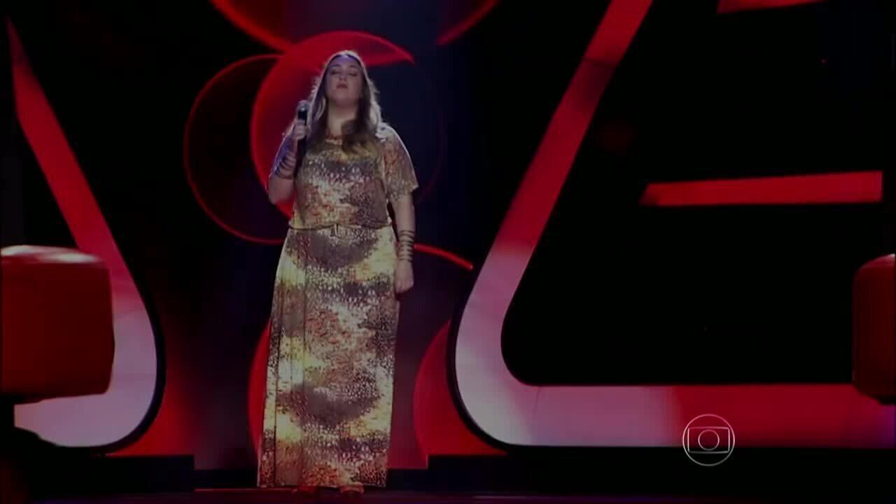 Assista à apresentação de Vivian Lemos cantando Back to Black no The Voice Brasil