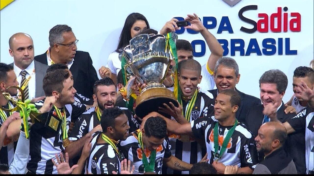 Atlético-MG vence o Cruzeiro no Mineirão e se sagra campeão da Copa do Brasil 2014