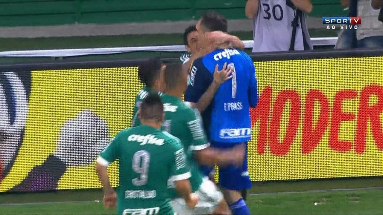 Os gols de Palmeiras 2 (4) x (3) 1 Santos pela decisão da Copa do Brasil