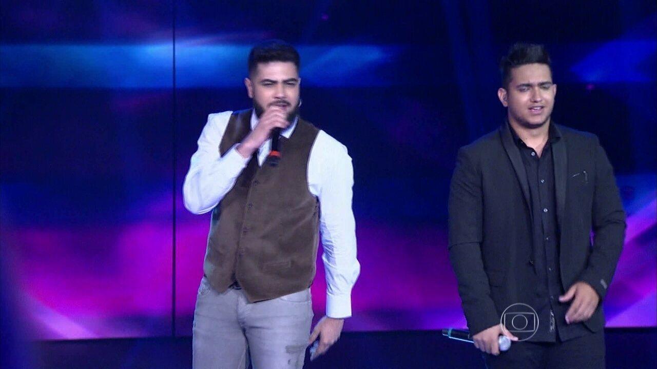 Henrique e Juliano cantam 'Cuida Bem Dela'