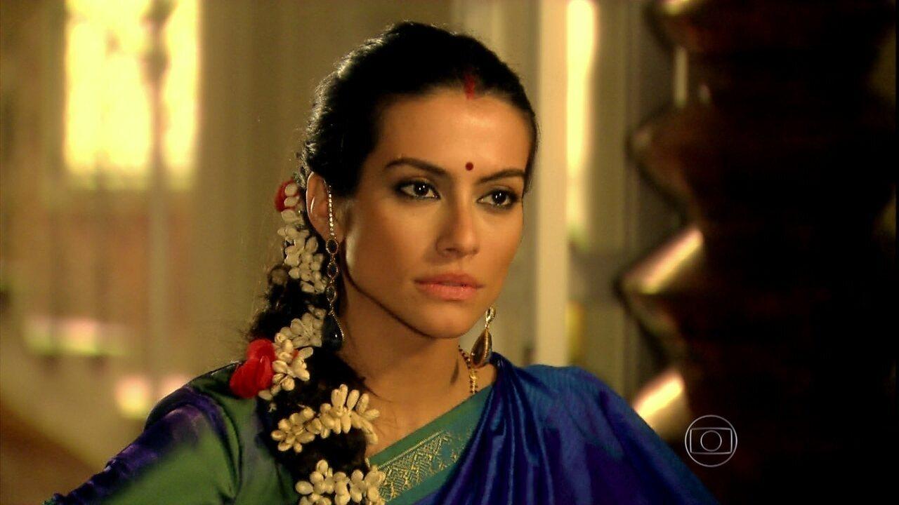 Caminho das Índias - Capítulo de quarta-feira, dia 20/01/2016, na íntegra - Maya e Surya se desentendem