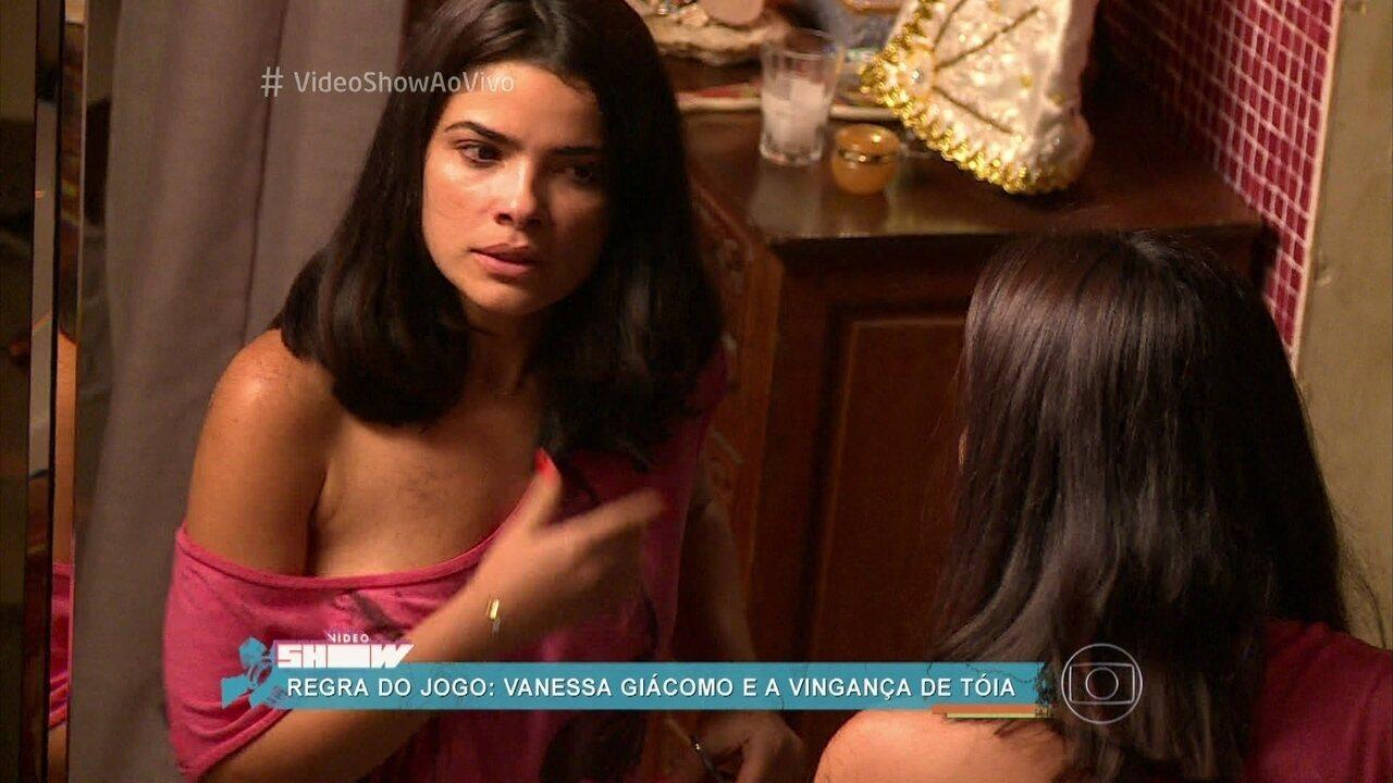 Vanessa Giácomo fala da transformação de Tóia