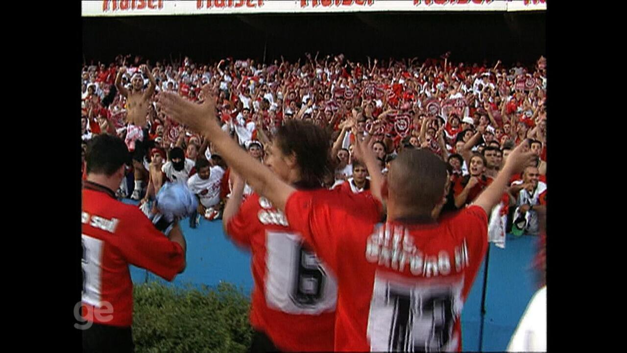 Relembre vitória do Brasil de Pelotas em cima do Grêmio pelo Gauchão de 1998