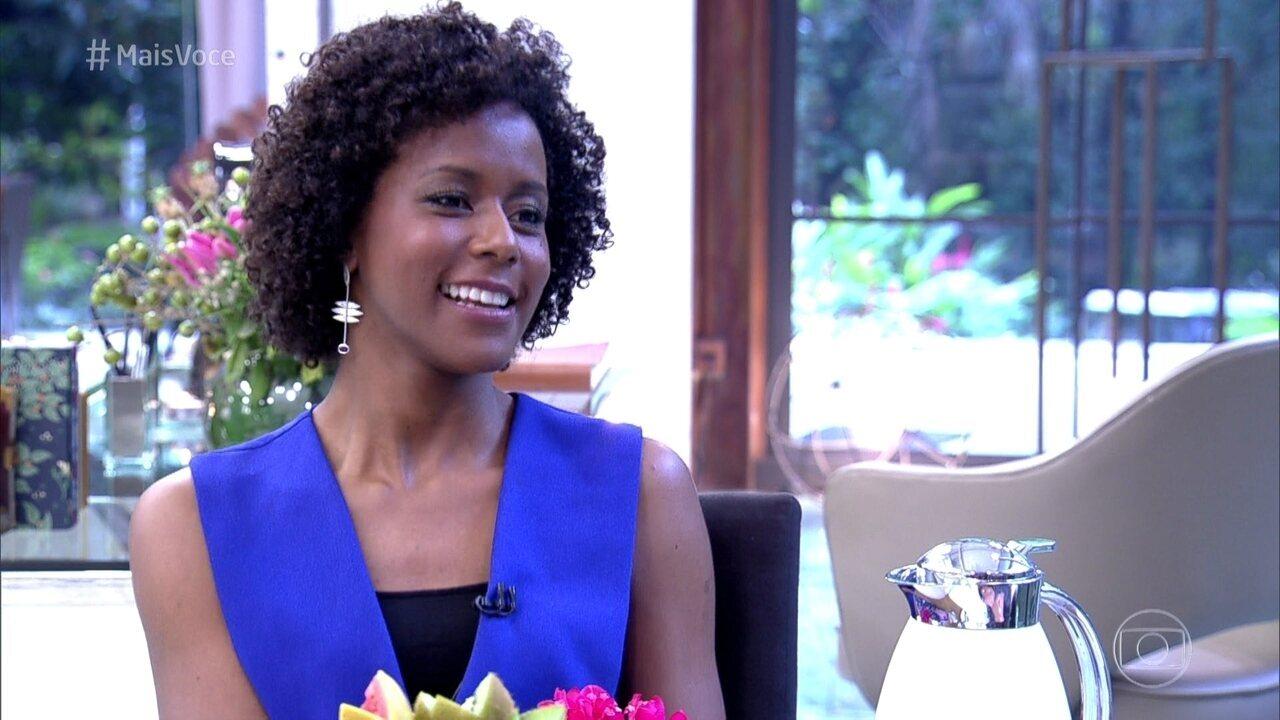 Maria Júlia Coutinho conta como começou a ser chamada de Maju