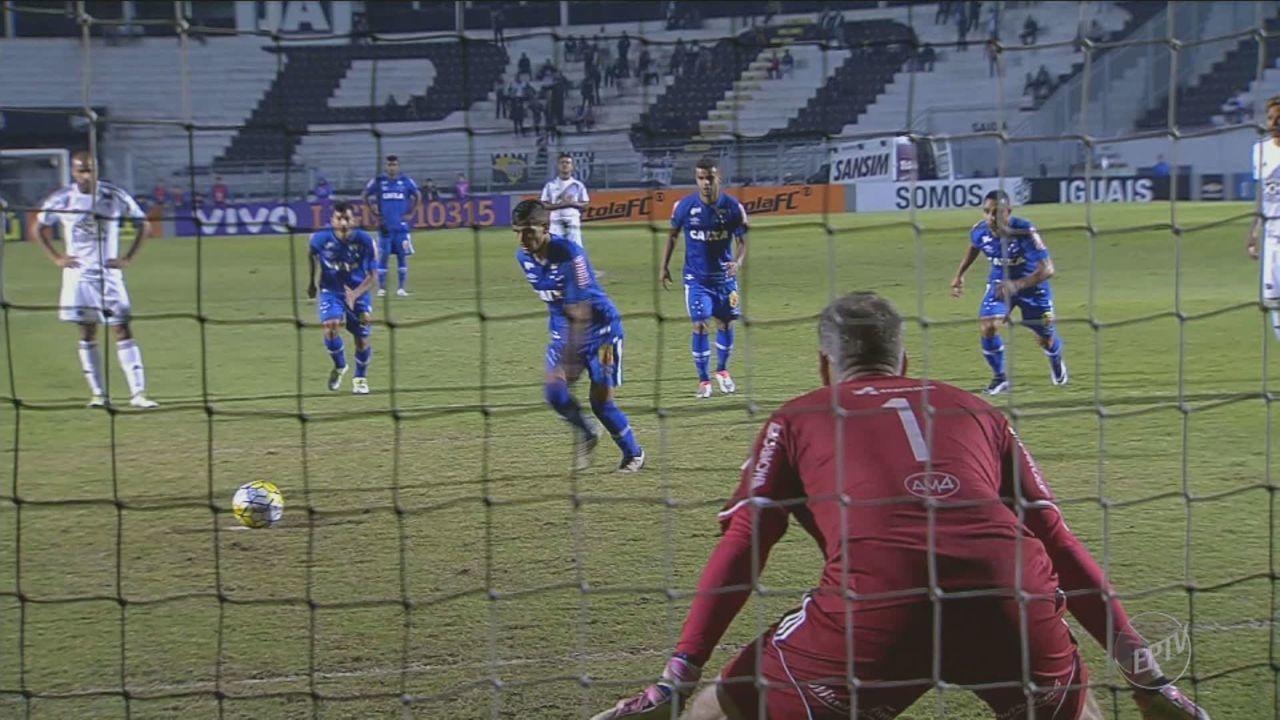 Ponte Preta perde de 4 a 0 para o Cruzeiro no Moisés Lucarelli, em Campinas