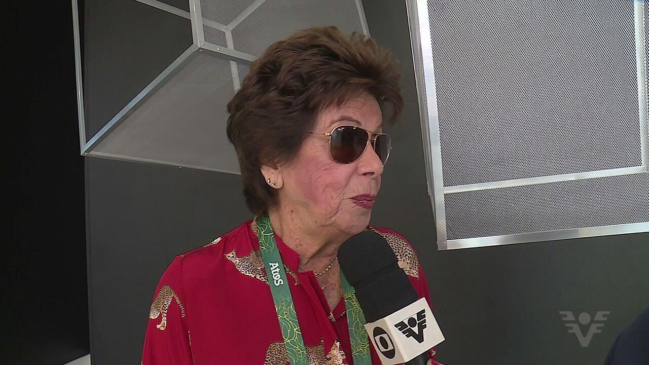 Ex-tenista Maria Esther Bueno fala sobre sua experiência nos jogos do Rio