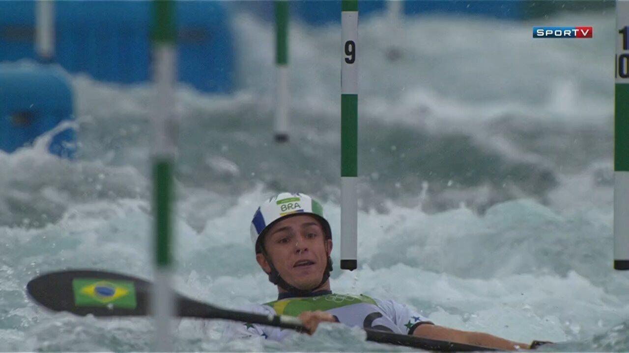 Pepê Gonçalves fica em sexto lugar nos Jogos Olímpicos