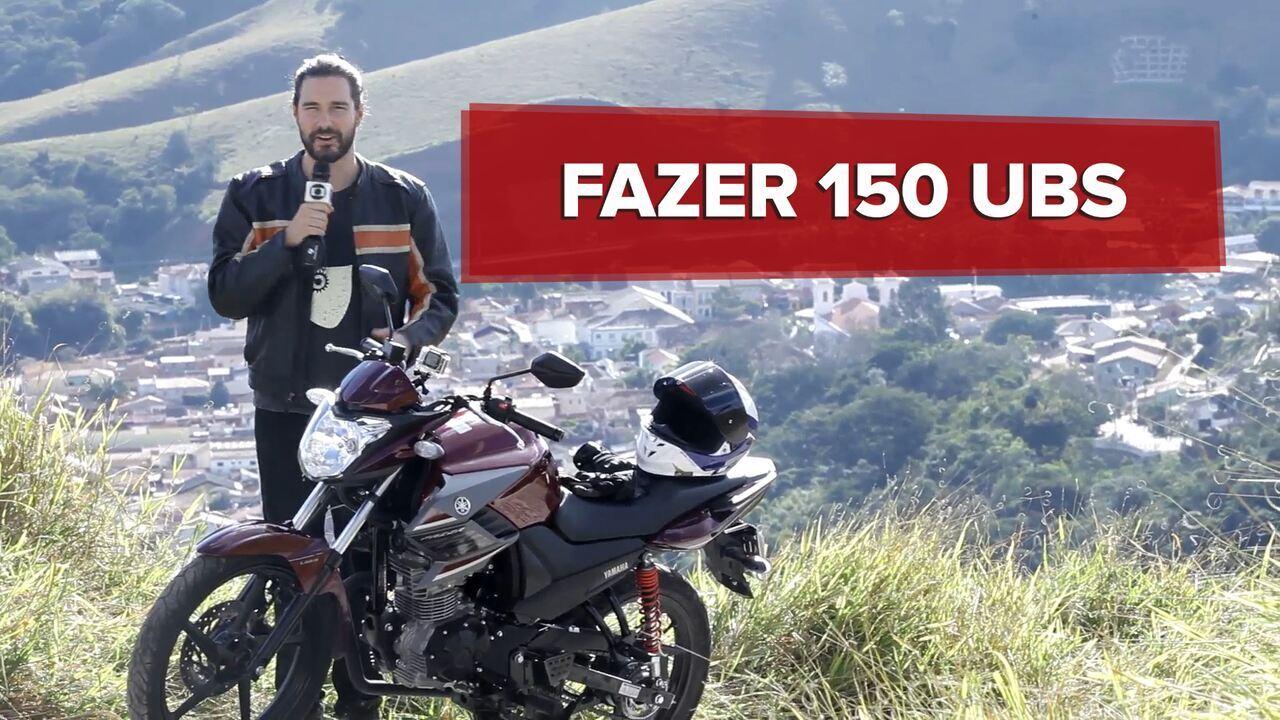 Yamaha Fazer 150 UBS 2017 é avaliada em vídeo