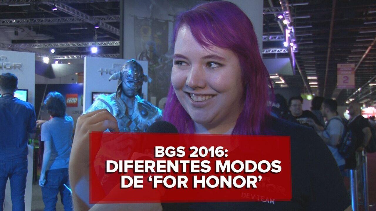 Game designer fala sobre modos de jogo de 'For honor' na BGS 2016