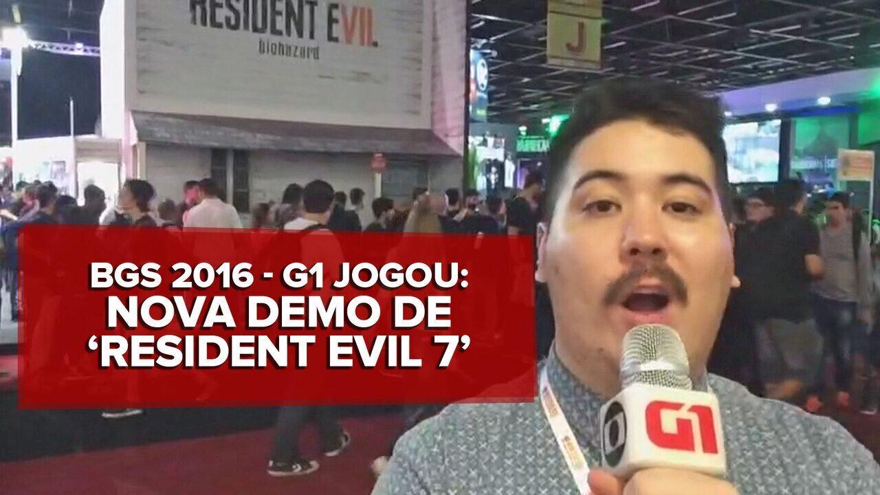 G1 jogou: Nova demo de 'Resident Evil 7' na BGS 2016