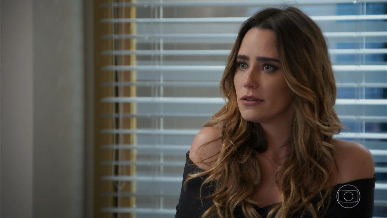 Haja Coração - capítulo de sábado, dia 10/09/2016, na íntegra - Bruna revela a Francesca que Giovanni está apaixonado por Camila