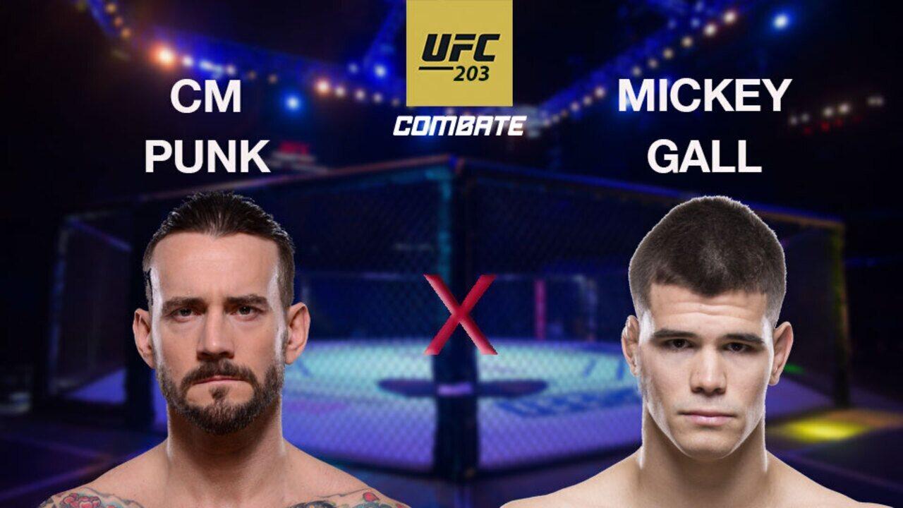 UFC 203 - CM Punk x Mickey Gall