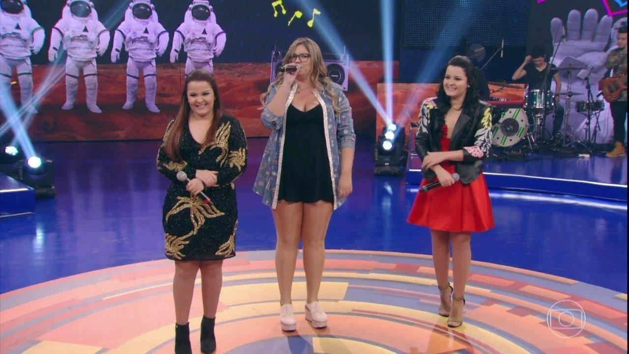 Marília Mendonça, Maiara e Maraisa agitam o Caldeirão