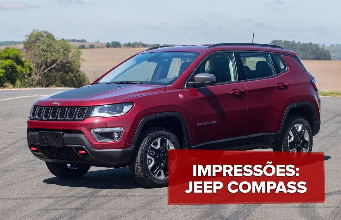 Novo Jeep Compass Trailhawk vai confortável na terra e no asfalto