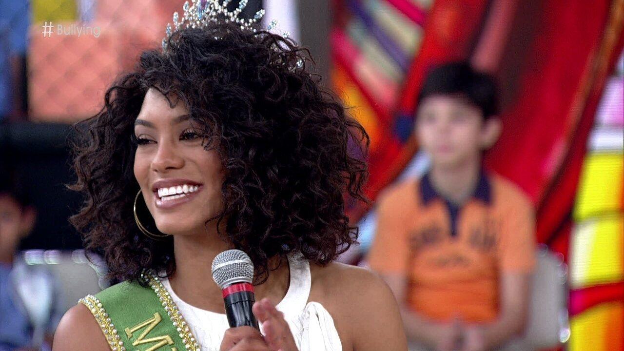 Miss Brasil 2016 se achava feia e sofria bullying na escola