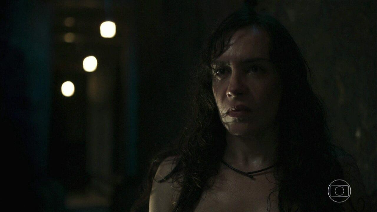 Janette ameaça Luizão