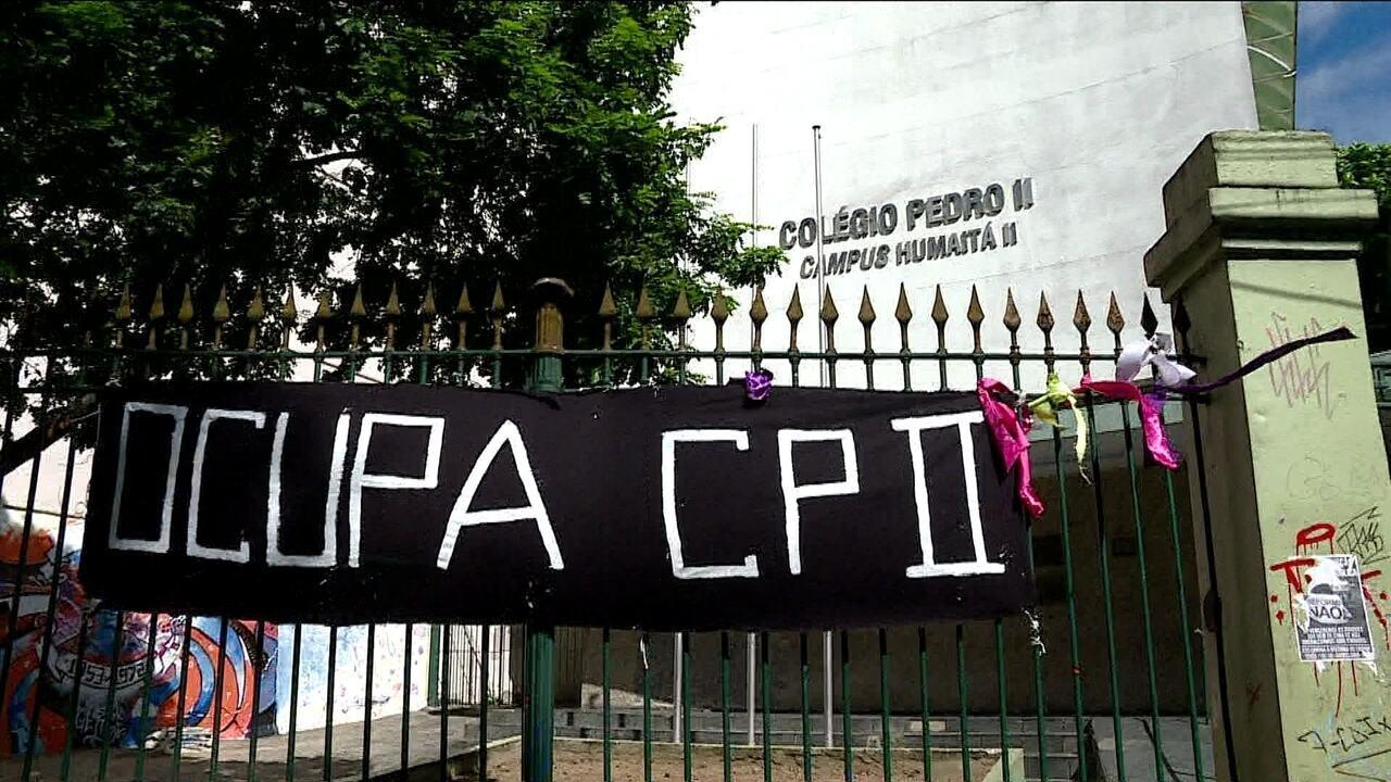 Estudantes do Colégio Pedro II, no Rio, querem negociar permanência durante Enem