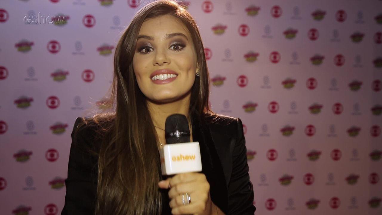 Camila Queiroz fala de essência sertaneja