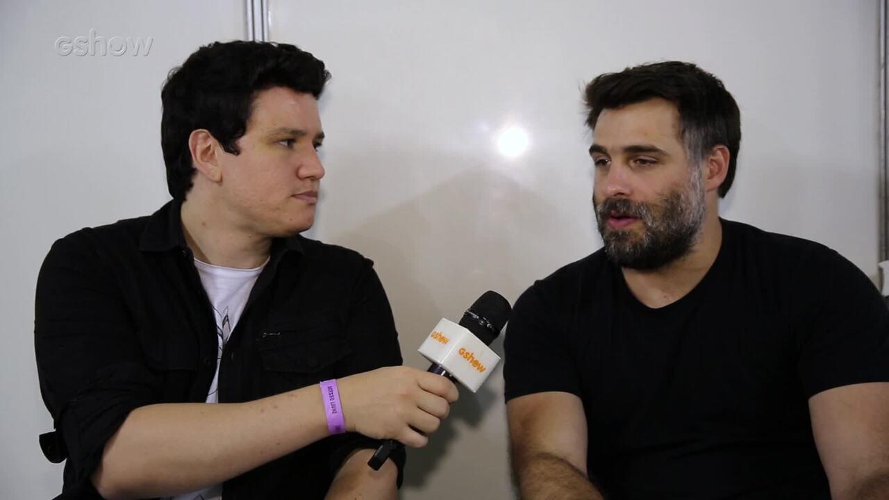 André Piunti entrevista o diretor Raoni Carneiro