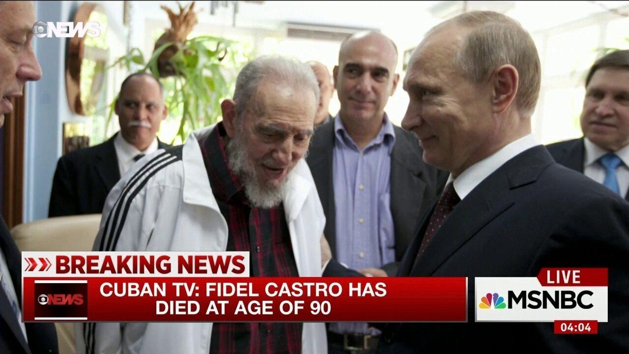 Morre Fidel Castro, ex-presidente de Cuba