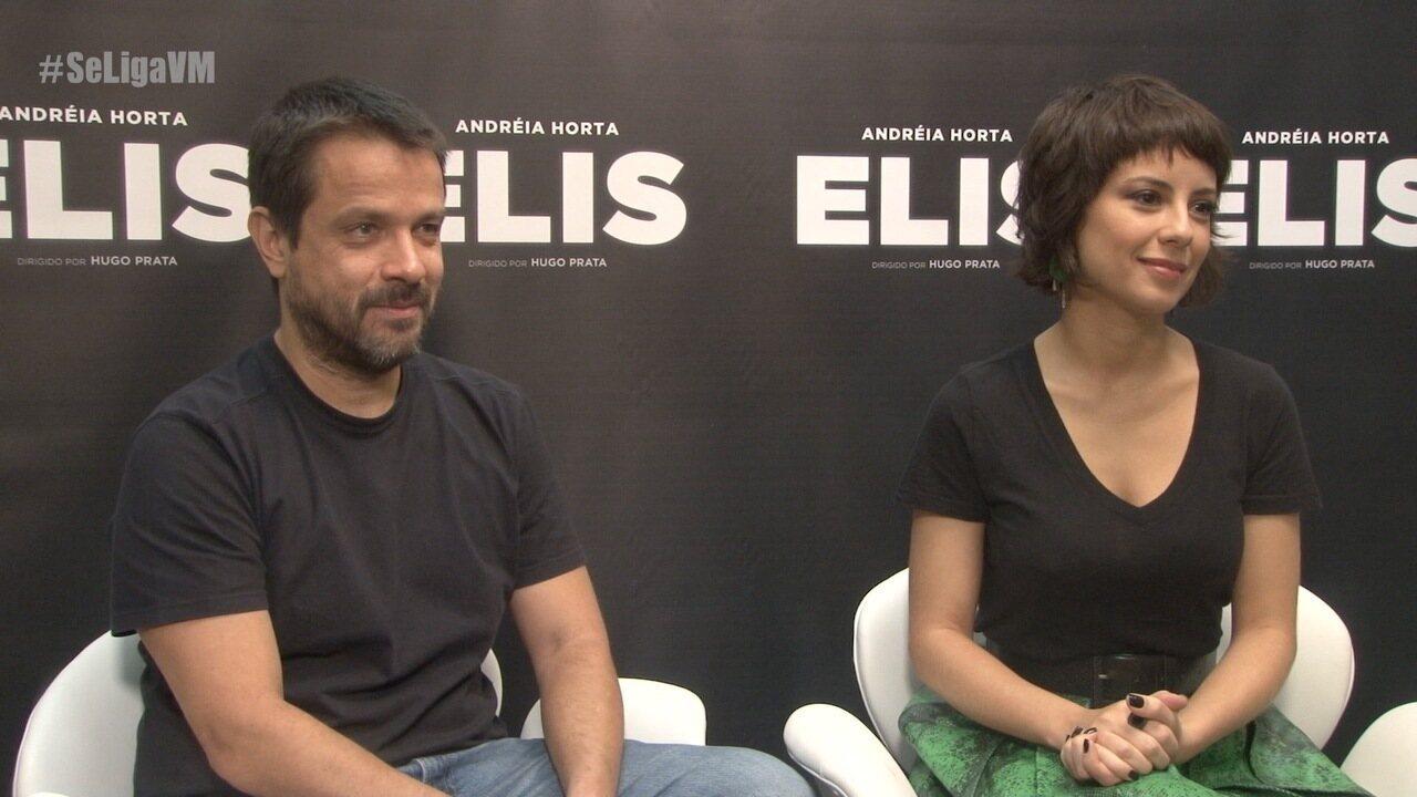 Andreia Horta A Cura lançamento do filme 'elis'