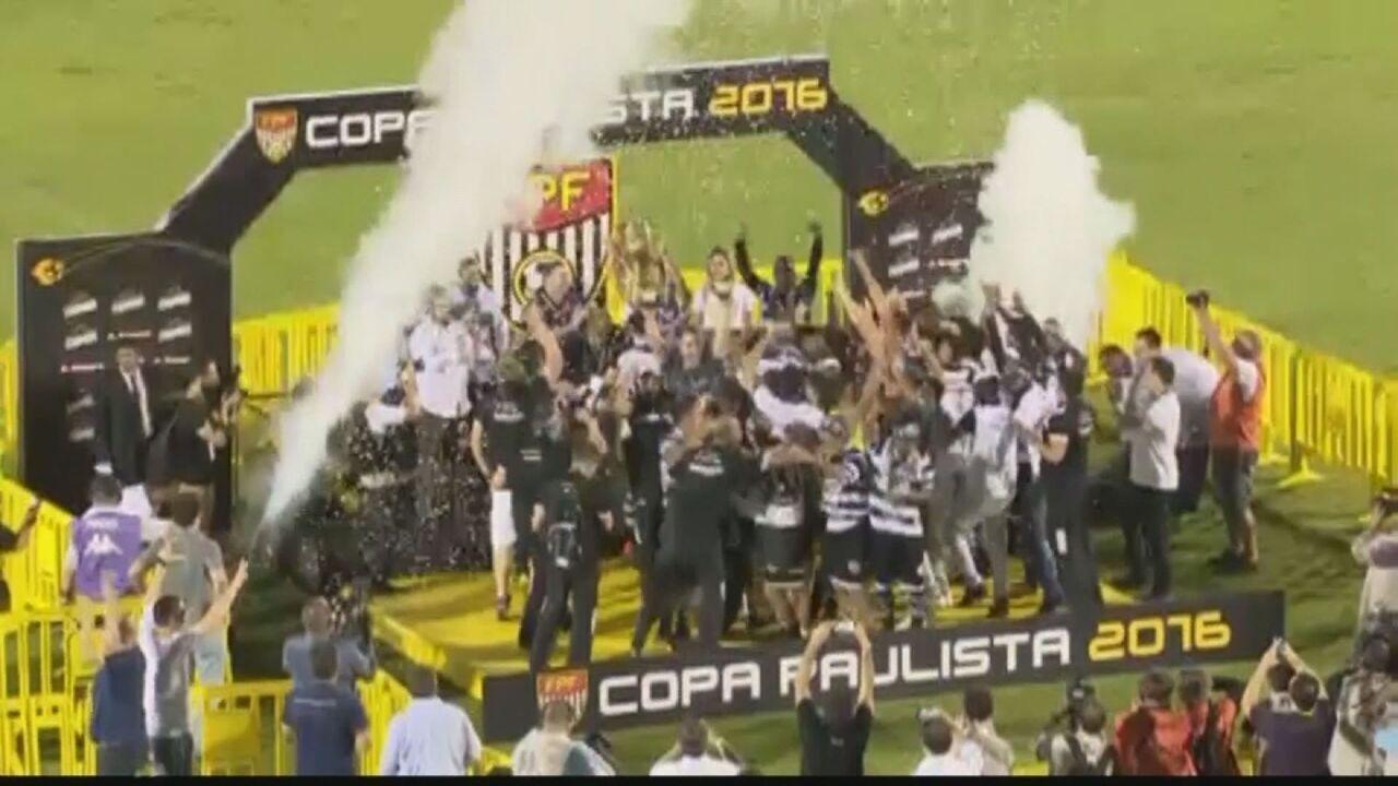 XV de Piracicaba vence Ferroviária e é campeão da Copa Paulista