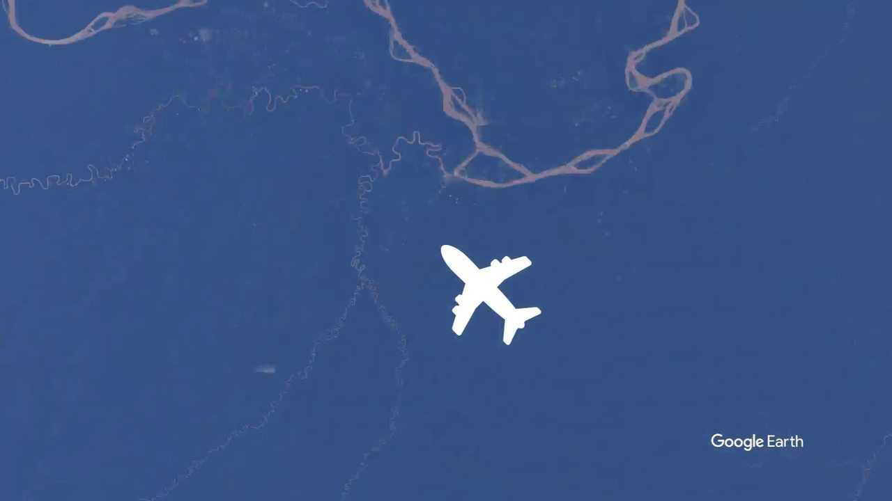 Vídeo mostra trajeto do avião da Chapecoense