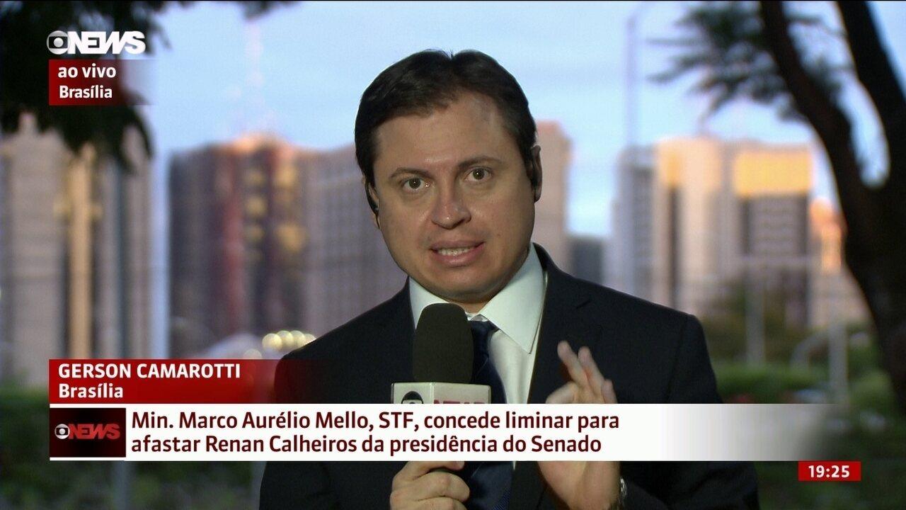 """""""Decisão do STF cria um problema para o Palácio do Planalto"""", diz Camarotti"""