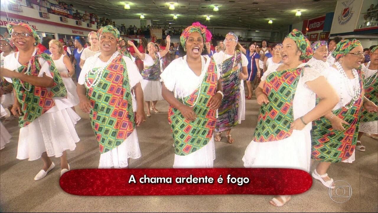 Em 2017, a União da Ilha leva para a avenida a cultura dos bantos, da Nação Angola