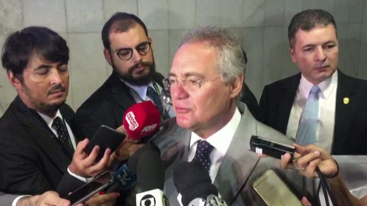 Renan Calheiros diz que decisão de ministro do Supremo interfere no processo legislativo