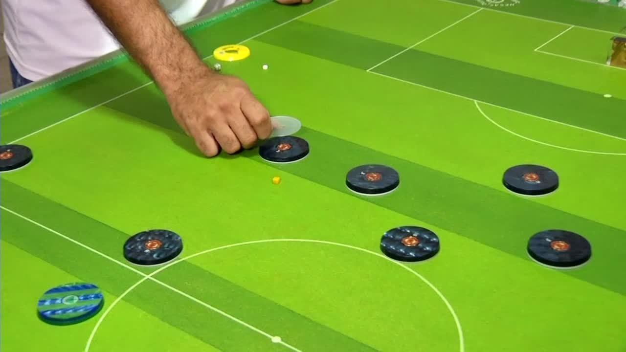 Saiba mais sobre o futebol de mesa