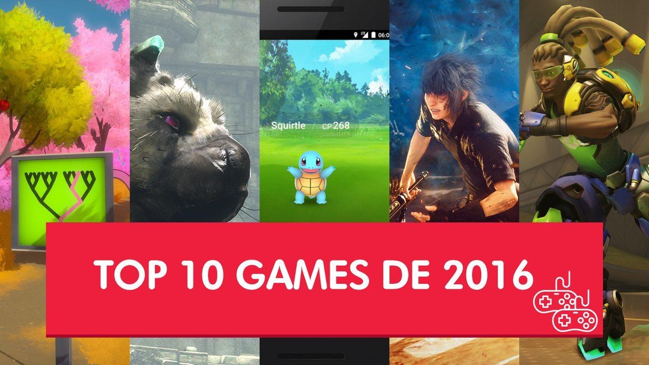 Veja quais foram os 10 maiores games de 2016 para o G1