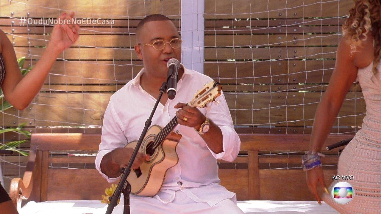 Dudu Nobre canta 'Posso Até Me Apaixonar'