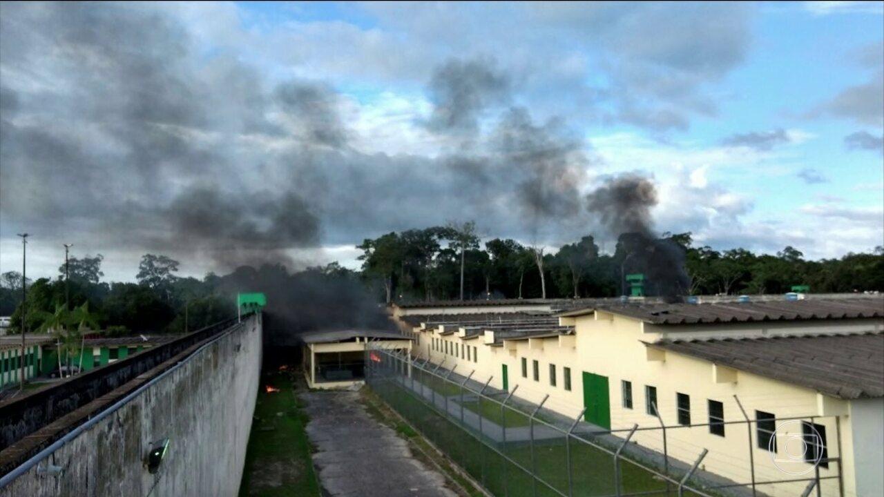Sessenta presos são assassinados por facções criminosas em presídio de Manaus