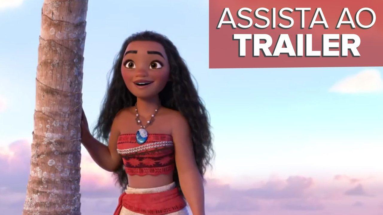Trailer de 'Moana - Um mar de aventuras'