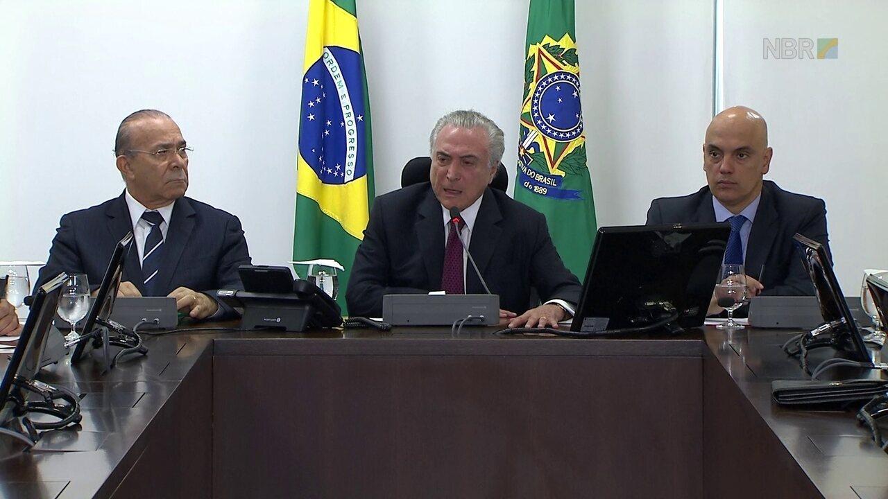 Temer lembra que presídio de Manaus era privatizado