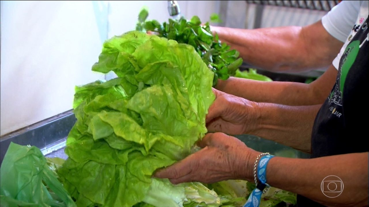 Lavar em água corrente e tirar a casca dos alimentos ajuda a reduzir a quantidade de agrotóxicos