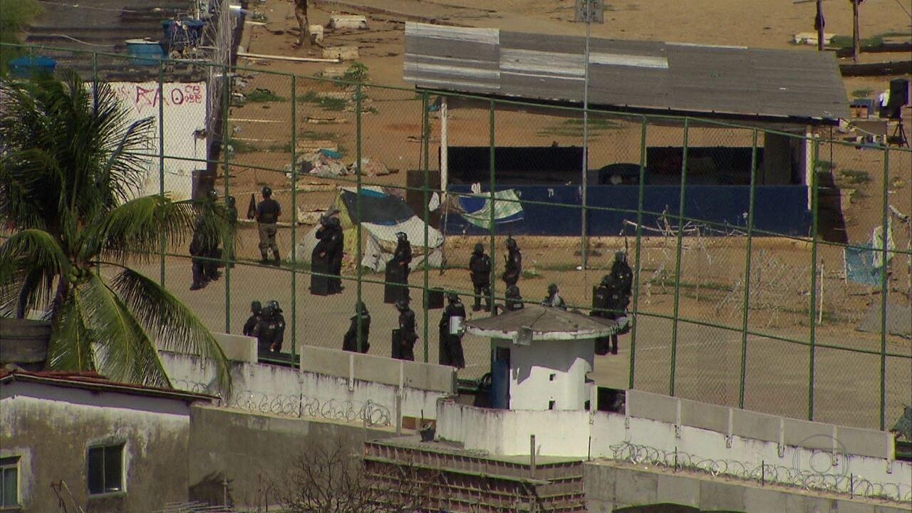 Batalhão de Choque da PM entrou no Pamfa para conter tumulto após revista