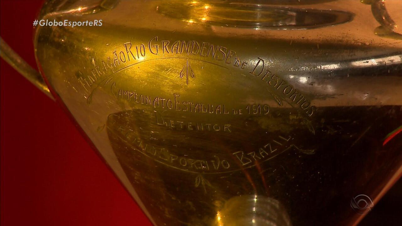 Conheça a primeira taça do Gauchão, guardada no museu do Brasil de Pelotas