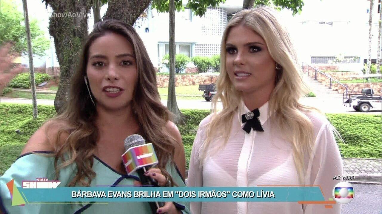 Bárbara Evans fala sobre a estreia na TV