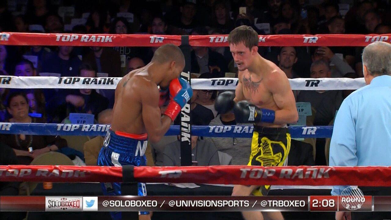 Robson Conceição ganha mais uma no boxe profissional