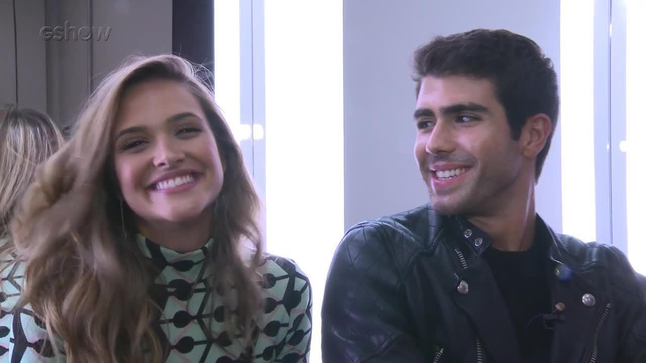 Juliana Paiva e Juliano Laham dizem como seria dupla sertaneja