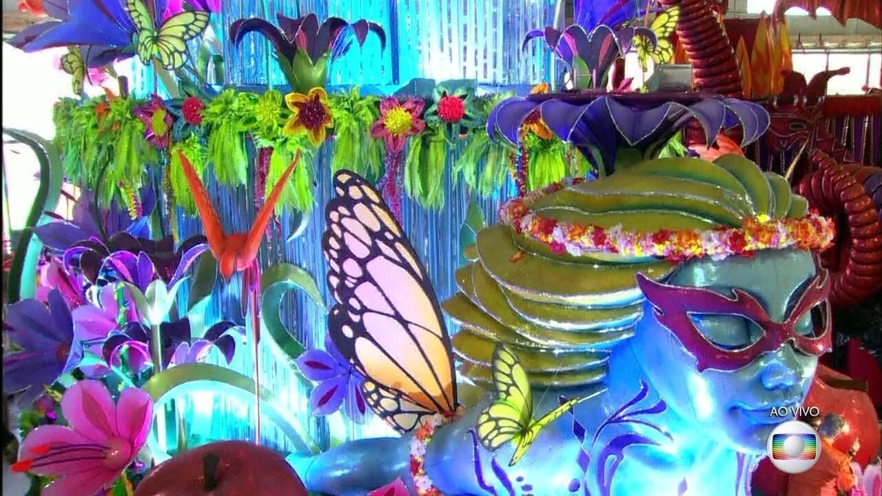 O 'Jardim das Delícias' seá representado no desfile do Salgueiro no Carnaval 2017
