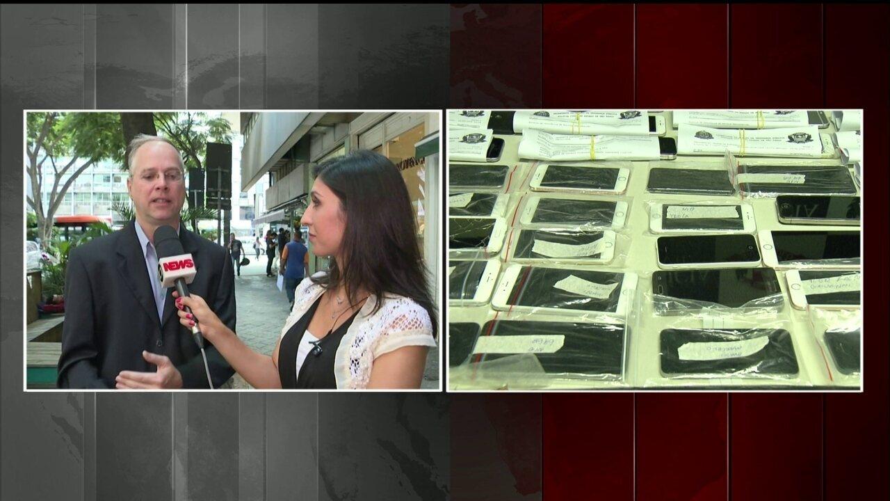 Roubo de celulares dispara em vários estados brasileiros, aponta levantamento
