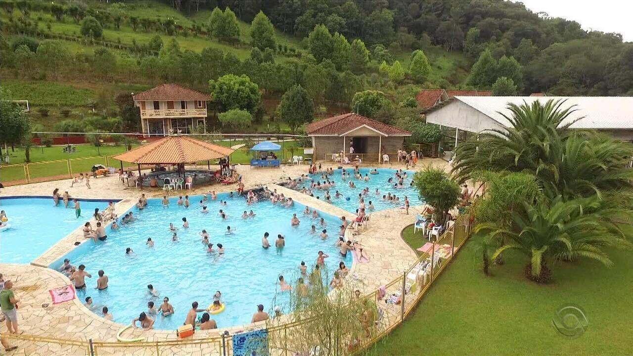#PartiuRS: parque aquático de Três Arroios oferece águas termais e contato com a natureza