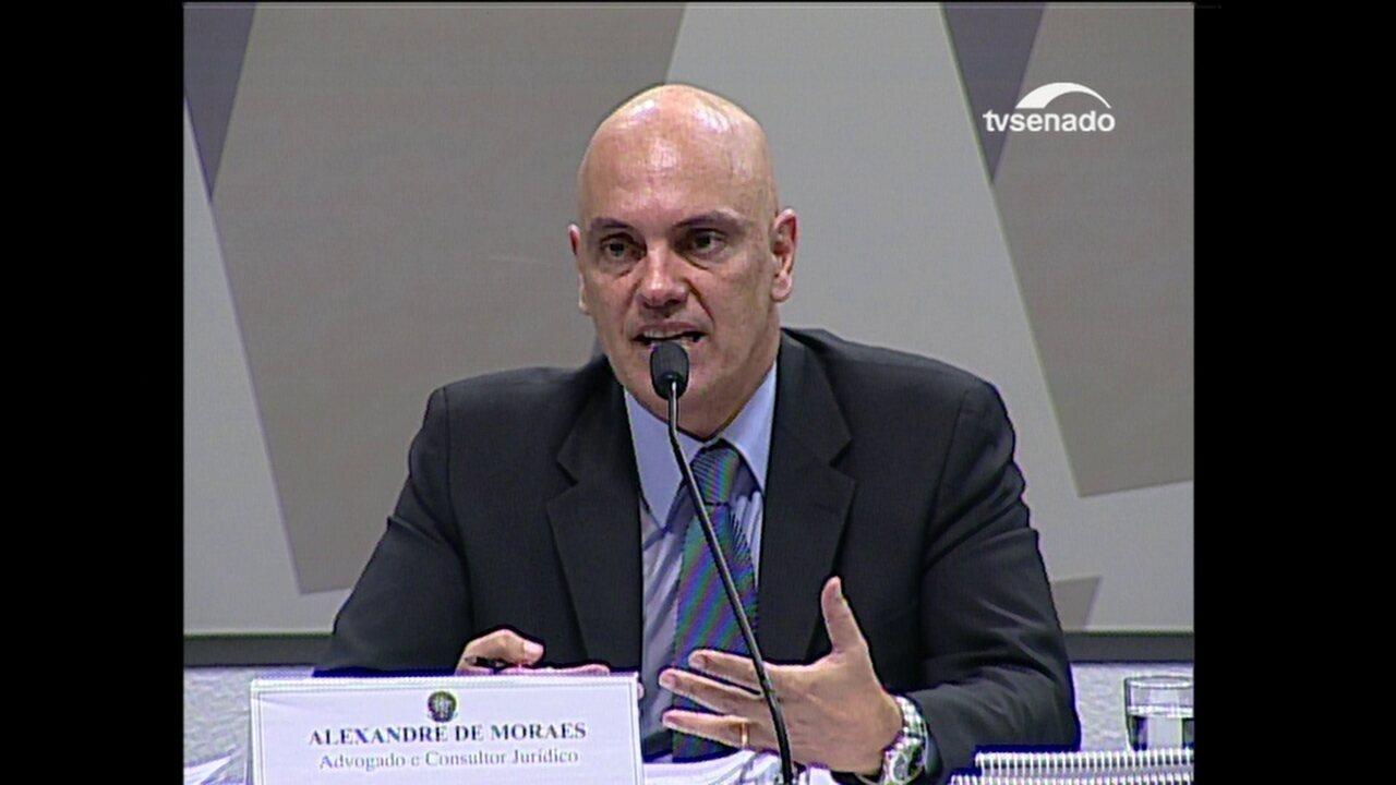 Moares fala sobre uso do WhatsApp para comunicações entre criminosos