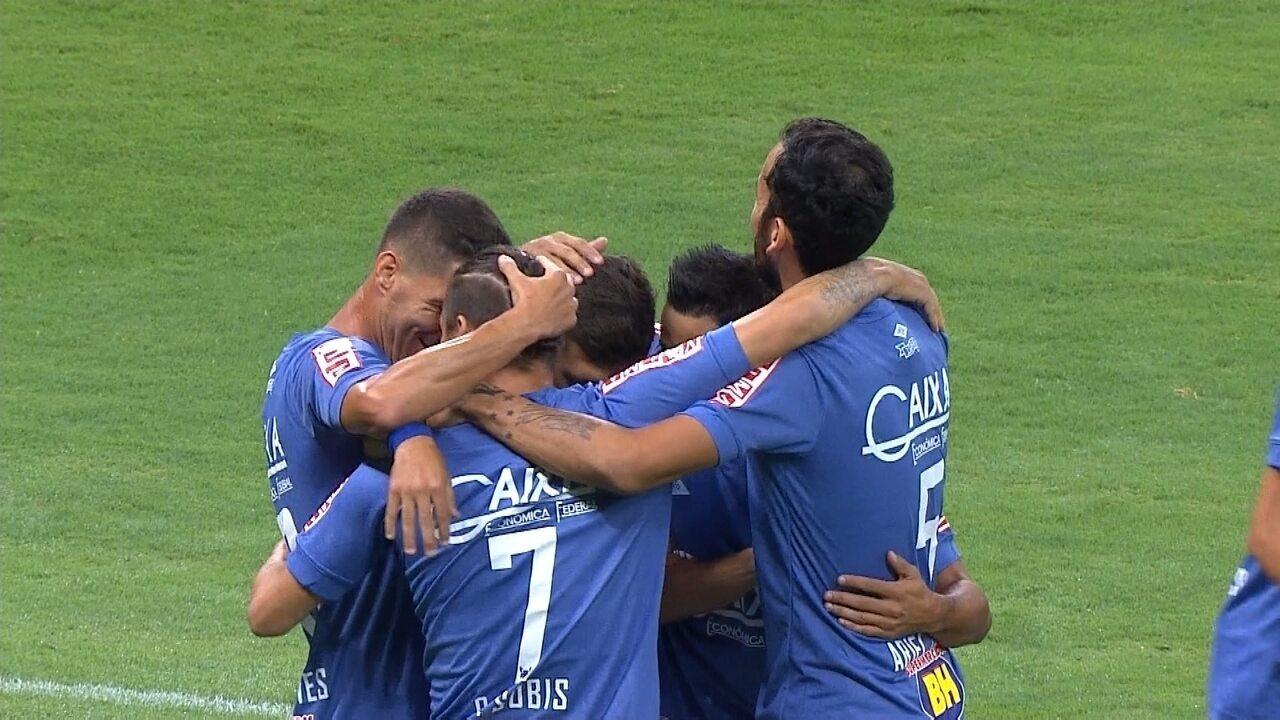 Veja os gols de Cruzeiro 6 x 0 São Francisco-PA, pela Copa do Brasil